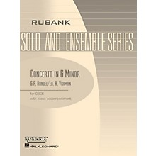 Rubank Publications Conc in G Min (Oboe Solo with Piano - Grade 4) Rubank Solo/Ensemble Sheet Series