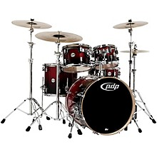 Concept Birch 5-Piece Shell Pack Cherry to Black Fade