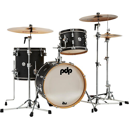 PDP by DW Concept Classic 3-Piece Bop Shell Pack Ebony Stain