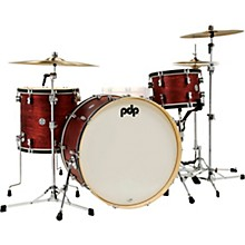Concept Classic 3-Piece Shell Pack with 26 in. Bass Drum Ox Blood/Ebony Stain