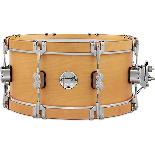 PDP by DW Concept Classic Snare Drum with Wood Hoops 14 x 6.5 in. Natural/Natural Hoops