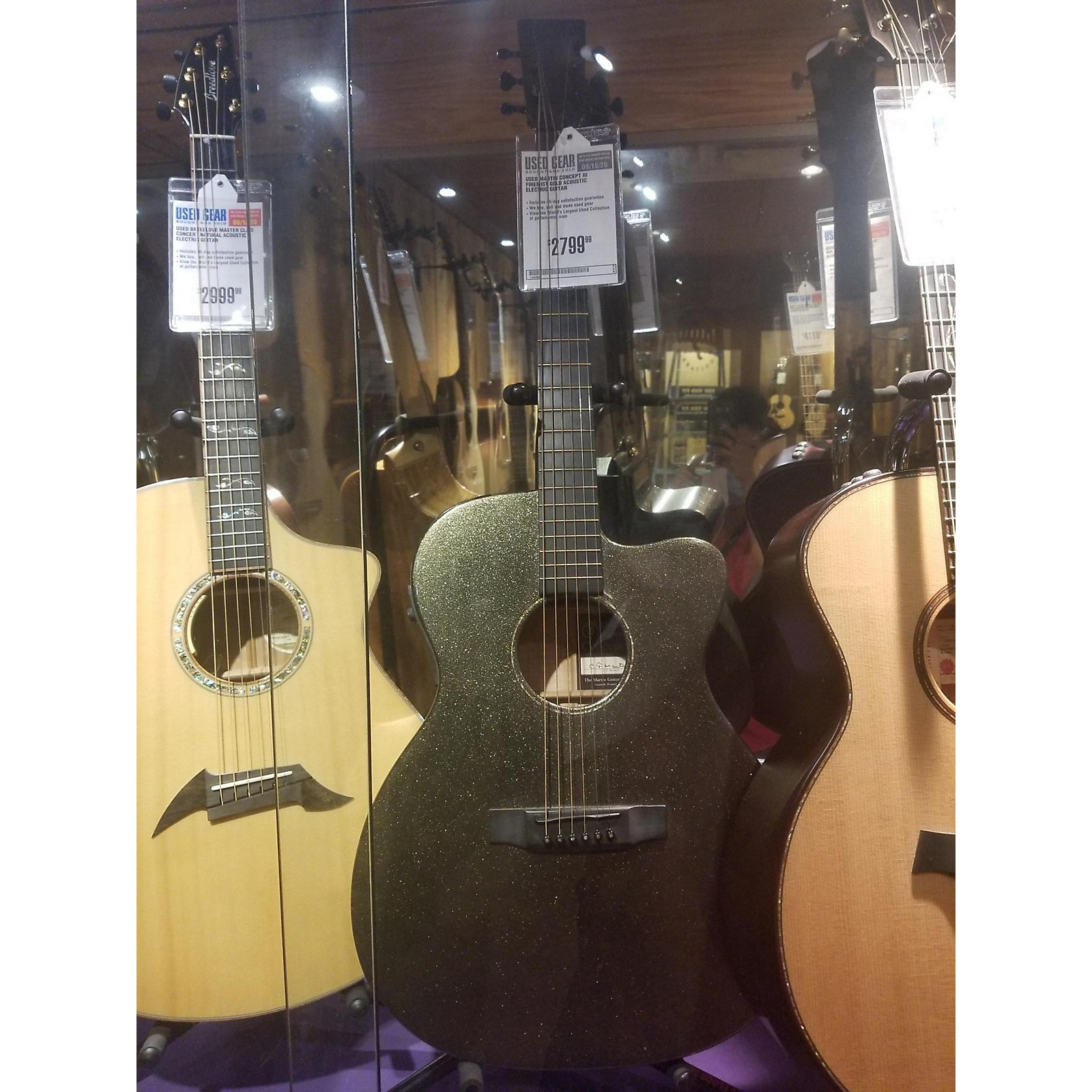 Martin Concept III Acoustic Electric Guitar