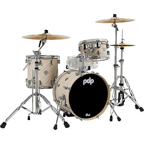 PDP by DW Concept Maple 3-Piece Bop Shell Pack Twisted Ivory