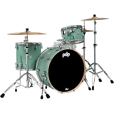 PDP by DW Concept Maple 3-Piece Rock Shell Pack with Chrome Hardware