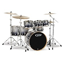 Concept Maple 7-Piece Shell Pack Silver to Black Fade