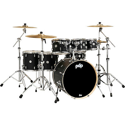 PDP by DW Concept Maple 7-Piece Shell Pack with Chrome Hardware