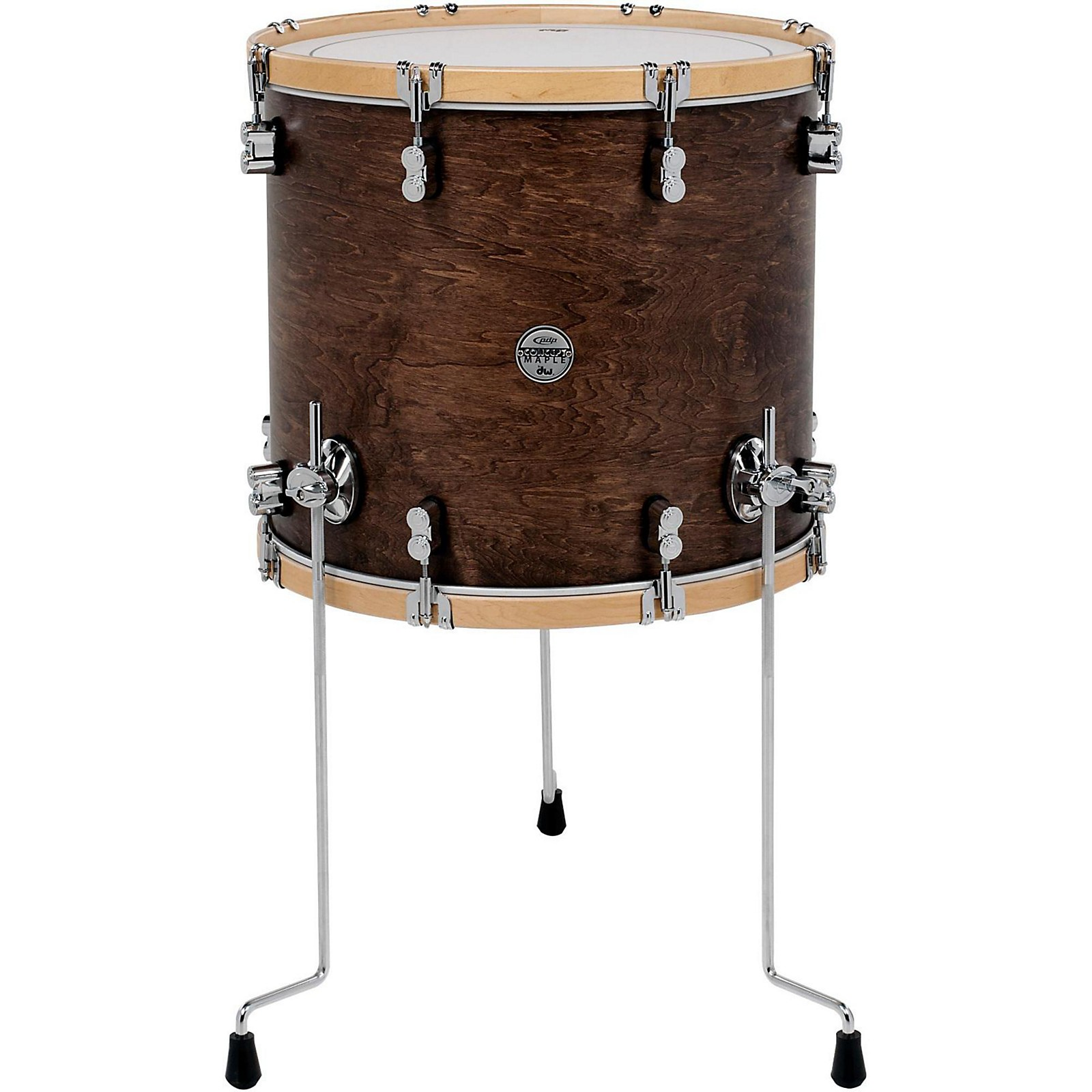 PDP by DW Concept Maple Classic Floor Tom with Natural Hoops