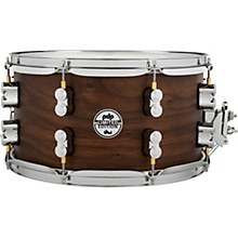Concept Series Limited Edition 20-Ply Hybrid Walnut Maple Snare Drum 13 x 7 in. Satin Walnut