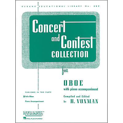 Hal Leonard Concert And Contest Collection Oboe Solo Part Only