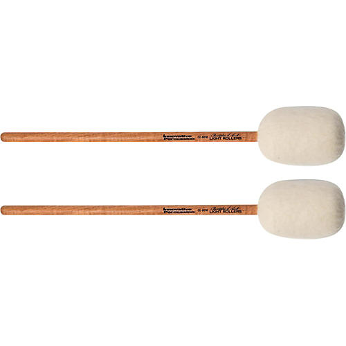 Innovative Percussion Concert Bass Drum Mallet - LIGHT ROLLERS (pair)