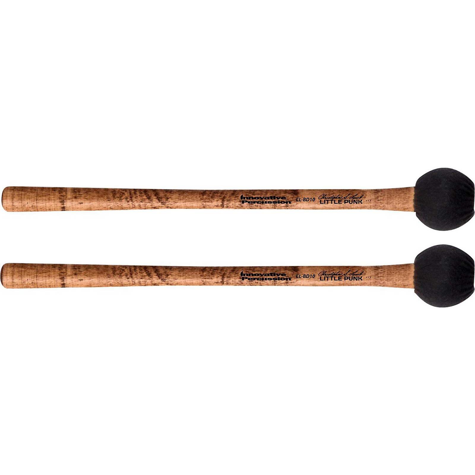 Innovative Percussion Concert Bass Drum Mallet – Little Punk (pair)
