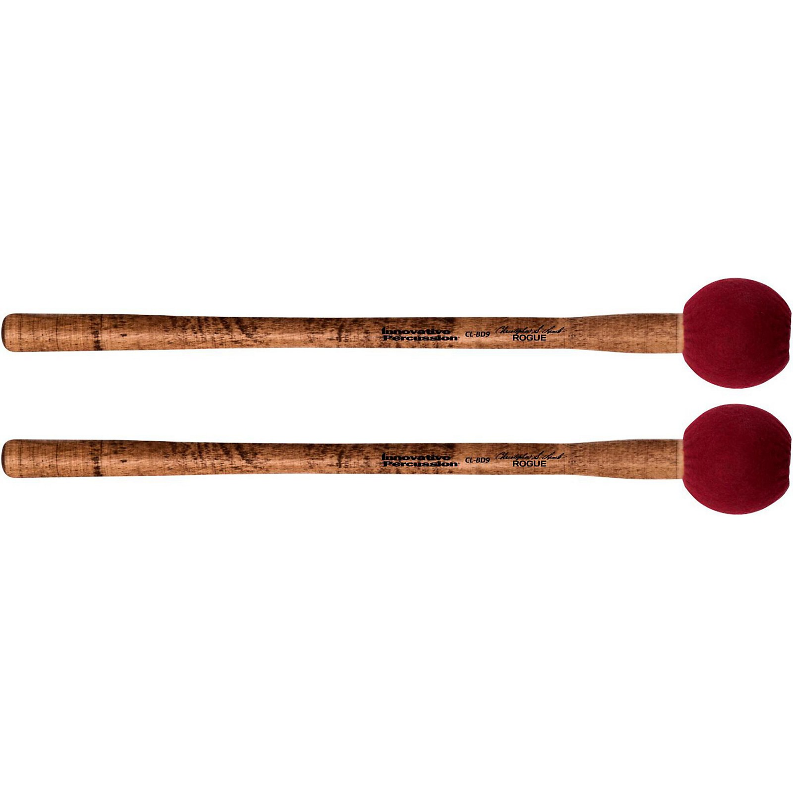 Innovative Percussion Concert Bass Drum Mallet – Rogue (pair)