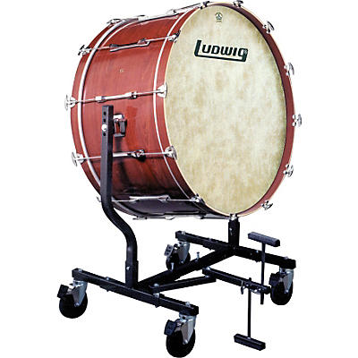 Ludwig Concert Bass Drum w/ Fiberskyn Heads & LE787 Stand