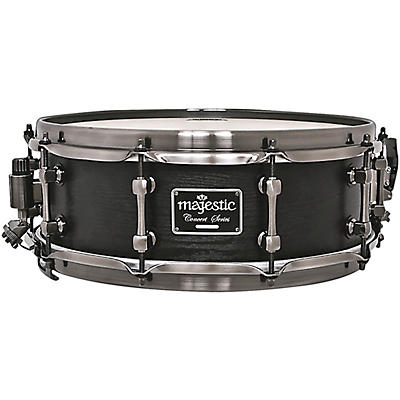 Majestic Concert Black Snare Drum