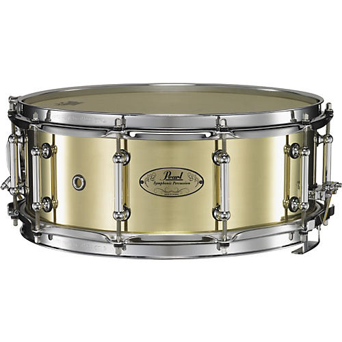 Pearl Concert Brass Snare Drum