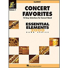 Hal Leonard Concert Favorites Vol1 Bb Clarinet