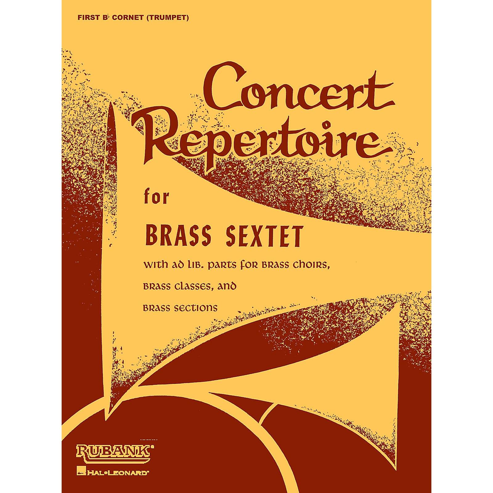 Rubank Publications Concert Repertoire for Brass Sextet (6th Part - Bass/Tuba (B.C.)) Ensemble Collection Series