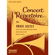 Rubank Publications Concert Repertoire for Brass Sextet (6th Part - Bass/Tuba (B.C.)) Ensemble Collection Series