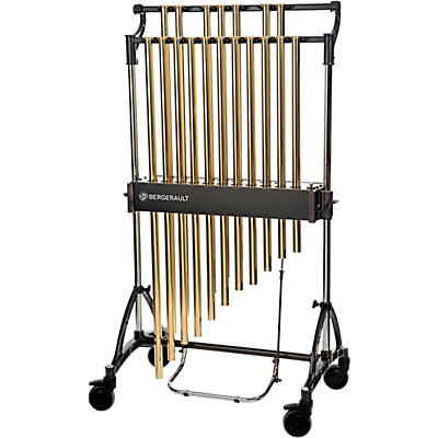 Bergerault Concert Series Chimes, 1.5 Octave (C5-F6), Gold Tubes