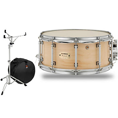 Yamaha Concert Series Maple Snare Drum with Stand and Free Bag