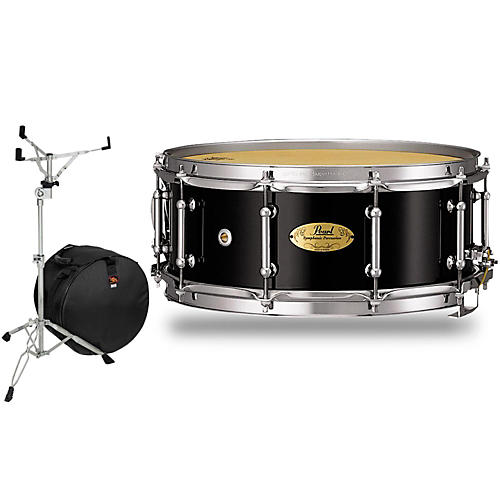 pearl concert series snare drum with stand and free bag musician 39 s friend. Black Bedroom Furniture Sets. Home Design Ideas