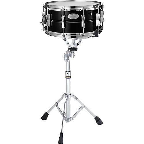 Yamaha Concert Series Steel Snare Drum with Stand, 6.5x14