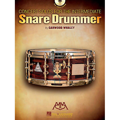 Meredith Music Concert Solos For The Intermediate Snare Drummer Book/CD