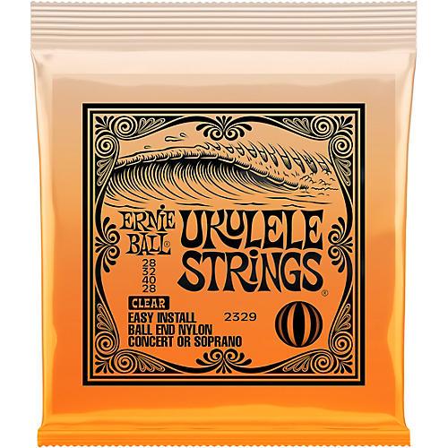 Ernie Ball Concert/Soprano Nylon Ball-End Ukulele Strings