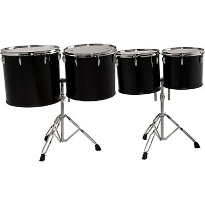 Sound Percussion Labs Concert Tom Set 13, 14, 16 and 18 with Two Stands