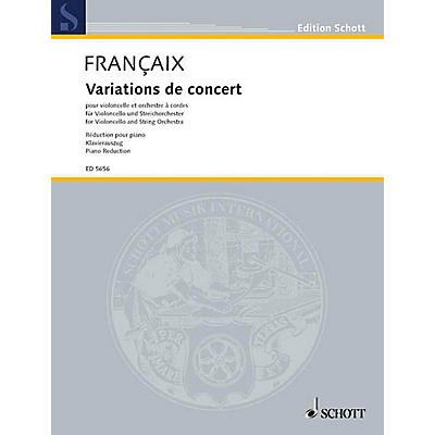 Schott Concert Variations Schott Series