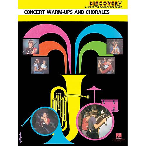 Hal Leonard Concert Warm-Ups and Chorales Concert Band Level 1.5 Arranged by John Edmondson