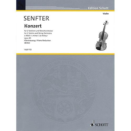 Schott Concert in C Minor, Op. 40 Schott Series Softcover Composed by Johanna Senfter