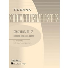 Rubank Publications Concertino, Op 12 (Bassoon Solo with Piano - Grade 4) Rubank Solo/Ensemble Sheet Series