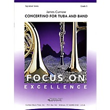 Curnow Music Concertino for Tuba and Band De Haske Play-Along Book Series Composed by James Curnow