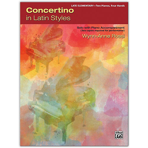 Alfred Concertino in Latin Styles 2 copies required Late Elementary