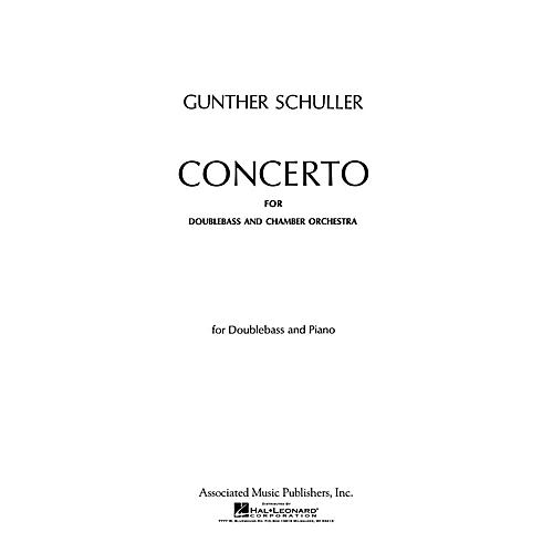 Associated Concerto (Double Bass Part) String Solo Series Composed by Gunther Schuller