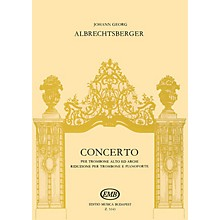 Editio Musica Budapest Concerto EMB Series by Johann Georg Albrechtsberger