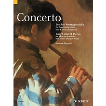 Schott Concerto (Easy Concert Pieces for Descant Recorder and Piano (Harpsichord)) Woodwind Series