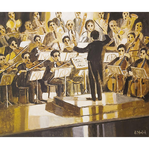 Gifts of Note Concerto I Art Print