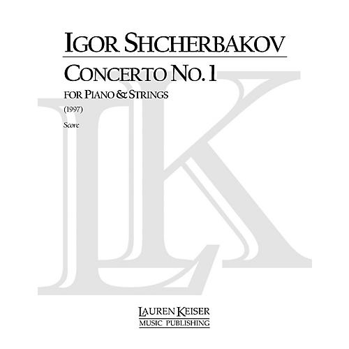 Lauren Keiser Music Publishing Concerto No. 1 for Piano and Strings LKM Music Series by Igor Shcherbakov