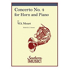 Southern Concerto No. 4, K495 Southern Music Composed by Wolfgang Amadeus Mozart Arranged by Lorenzo Sansone
