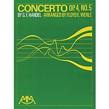 Hal Leonard Concerto Op. 4, No. 5 Concert Band Arranged by Floyd E. Werle