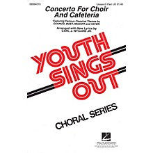 Hal Leonard Concerto for Choir and Cafeteria (Collection) UNIS/2PT arranged by Carl J. Nygard, Jr.