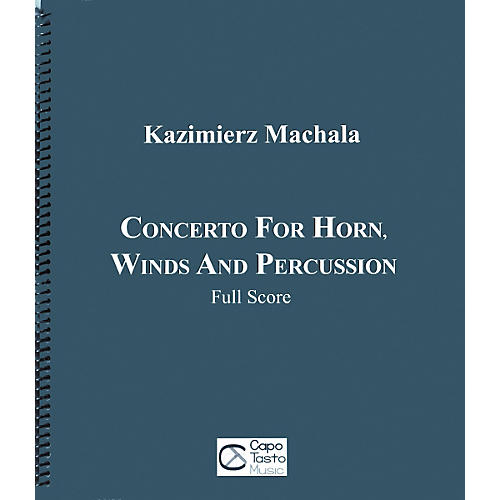 Carl Fischer Concerto for Horn, Winds and Percussion Book