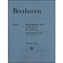 G. Henle Verlag Concerto for Piano And Orchestra C Minor Op. 37, No. 3 By Beethoven
