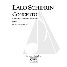 Lauren Keiser Music Publishing Concerto for Piano, Jazz Trumpet and Orchestra (Piano Reduction Score) LKM Music Series by Lalo Schifrin
