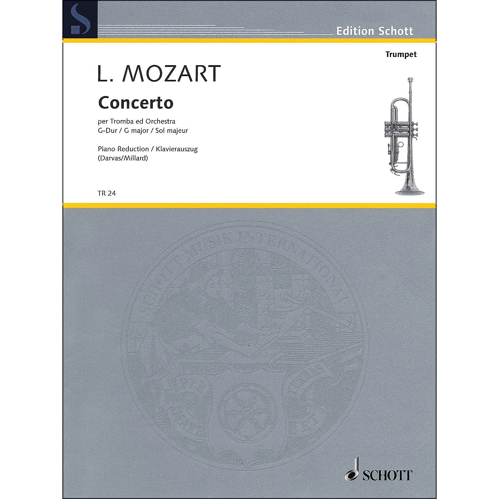 Hal Leonard Concerto for Trumpet And Orchestra In G Major Trumpet In C And Piano
