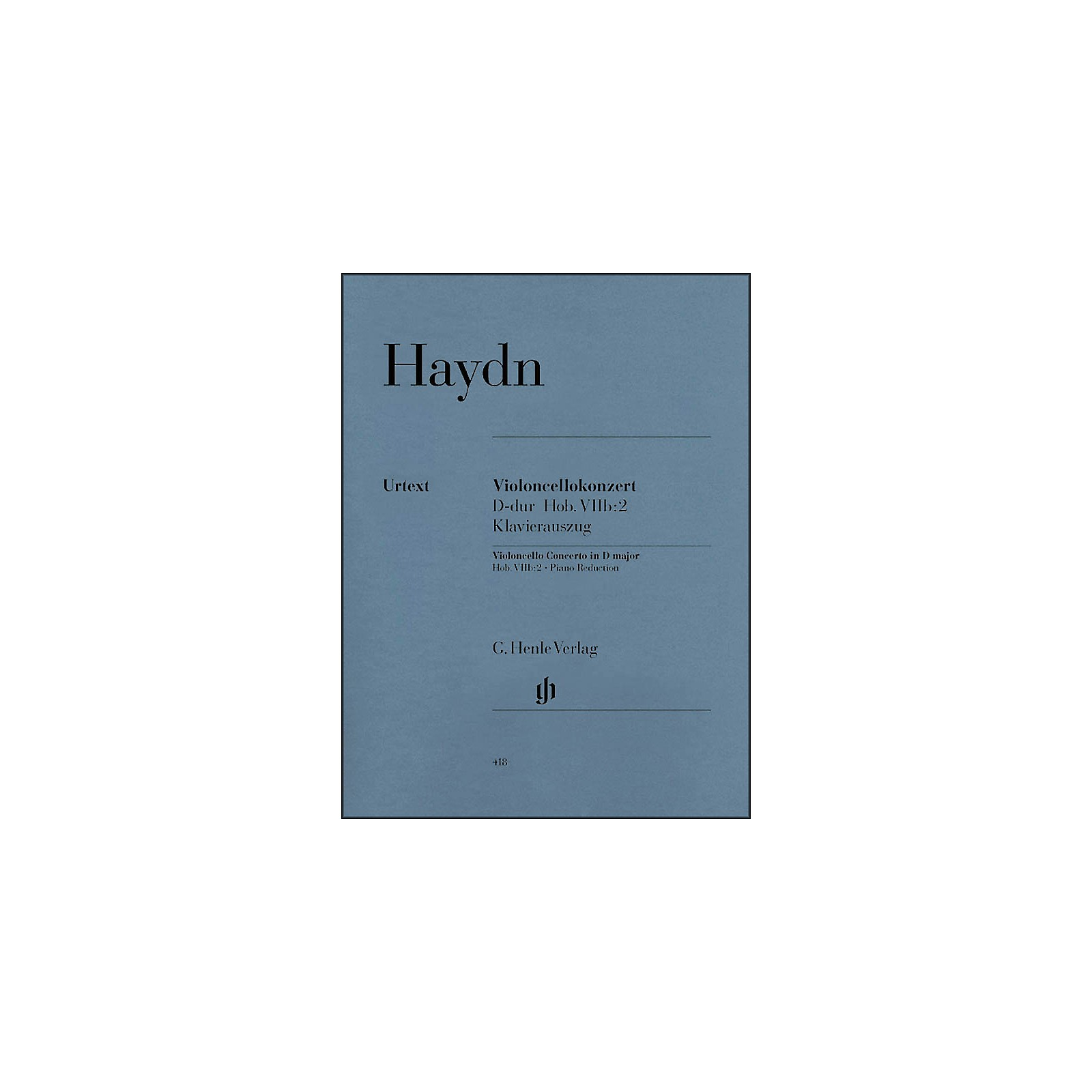 G. Henle Verlag Concerto for Violoncello and Orchestra D Major Hob.VIIb:2 By Haydn