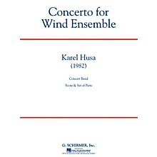 G. Schirmer Concerto for Wind Ensemble Concert Band Level 6 Composed by Karel Husa
