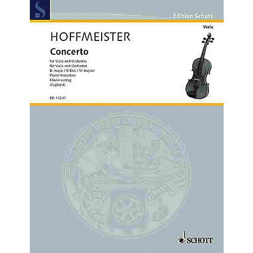 Schott Concerto in B Flat Major Schott Series Composed by Franz Anton Hoffmeister Arranged by Alison Copland